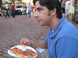 Ryan Got Pizza: They do have food other than pizza, by the way.